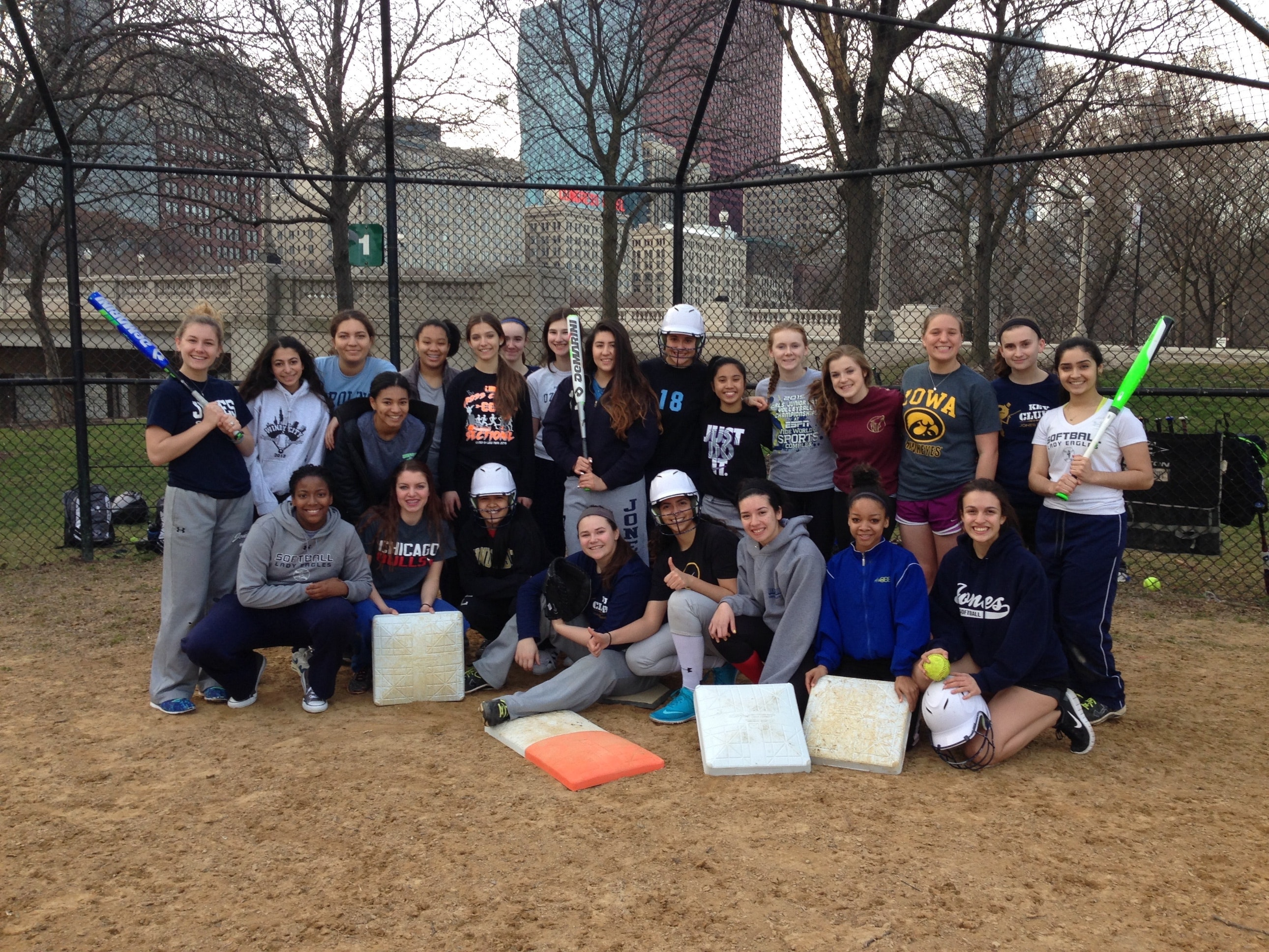 Jones College Prep Softball