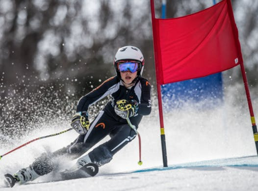 skiing fundraising - Maxime Tremblay