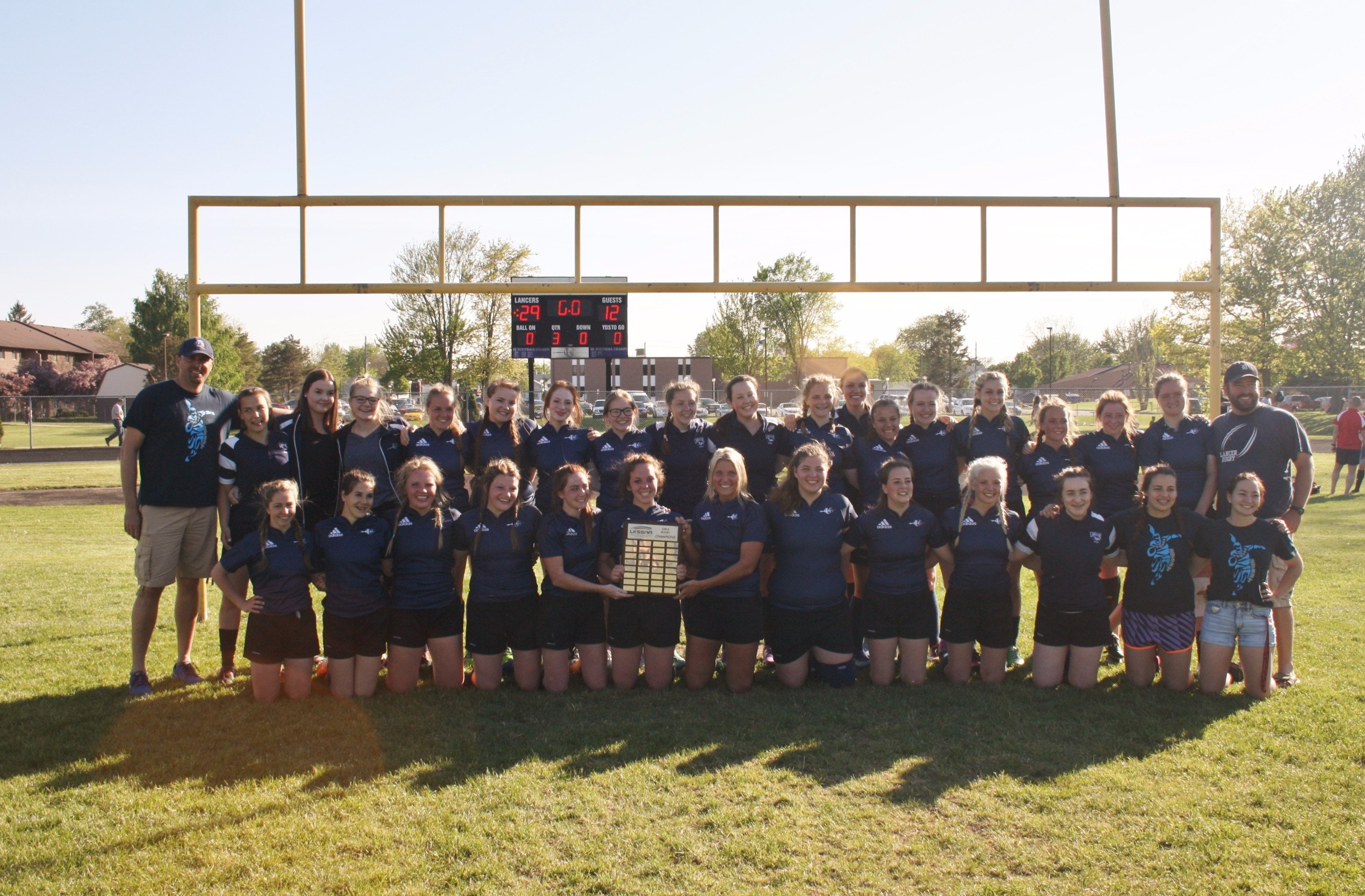 UCC lancers Girls Rugby