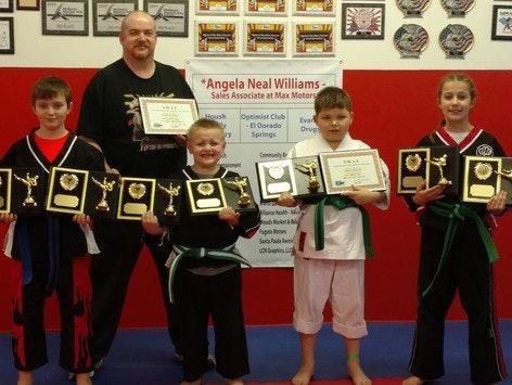 martial arts fundraising - Karate Kids