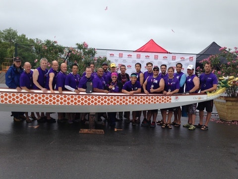 dragon boat fundraising - Rideau Titans
