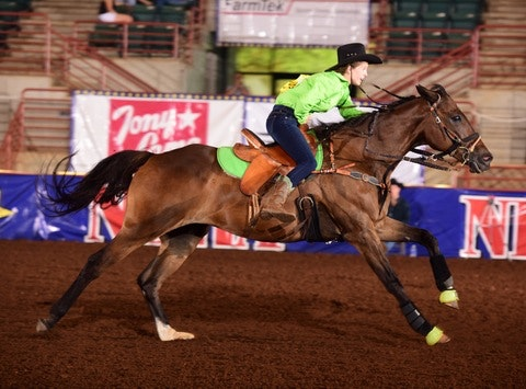 personal & family fundraising - BLAKELEY TOWLE- NBHA  WORLD Barrel Racing Championship