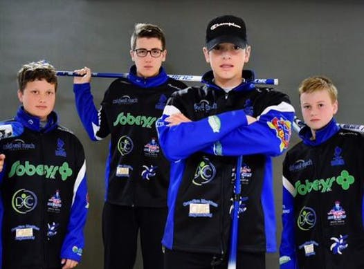 curling fundraising - Team MacIsaac