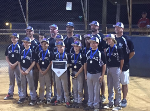 baseball fundraising - Richmond Ruckus 12U Elite