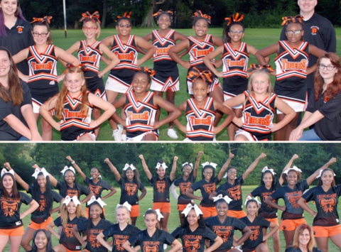 cheerleading fundraising - Churchland Spirit
