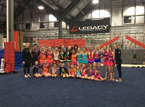 gymnastics fundraising - Legacy Acro Parent Boosters