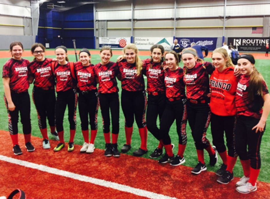 Bronco Select U14 Black Fastpitch