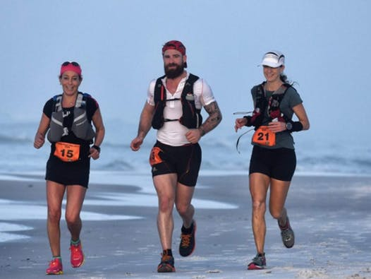 charity event - run, walk, or bike fundraising - Marathon des Sables