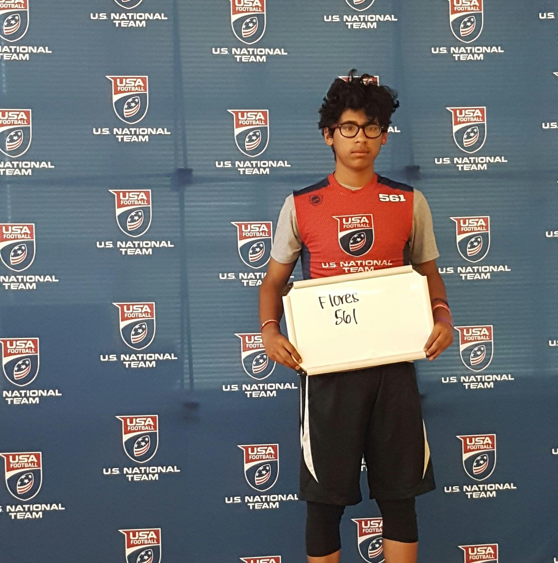 Francisco Flores USA Football