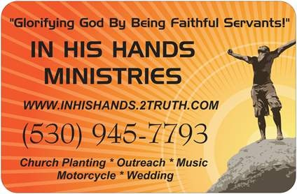 IN HIS HANDS Ministries