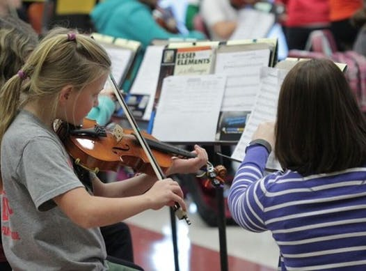 music fundraising - Gettysburg String Program