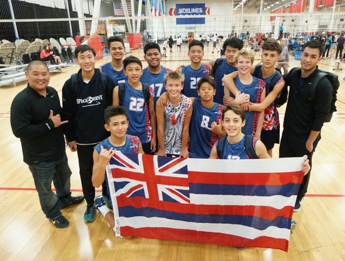 SAS 14's Boys Volleyball