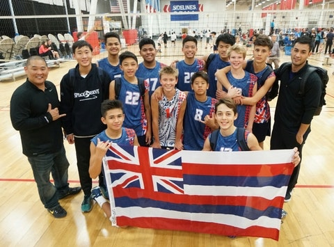 SAS 14's Boys Volleyball