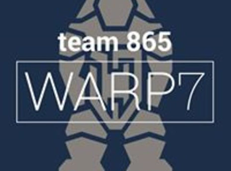 Friends and Family WARP 7 Team 865 Championship Robotics Team