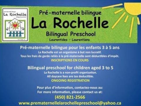 school improvement projects fundraising - Pre-maternelle La Rochelle Preschool