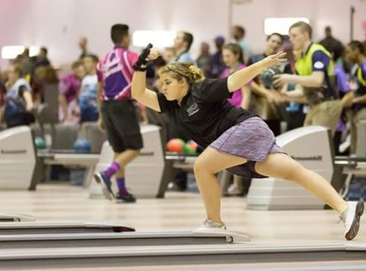 bowling fundraising - Michaela Clardy