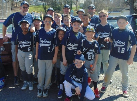 Pottstown PAL Trojans 11u Baseball
