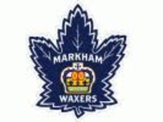 ice hockey fundraising - 2007 Markham Waxers AA
