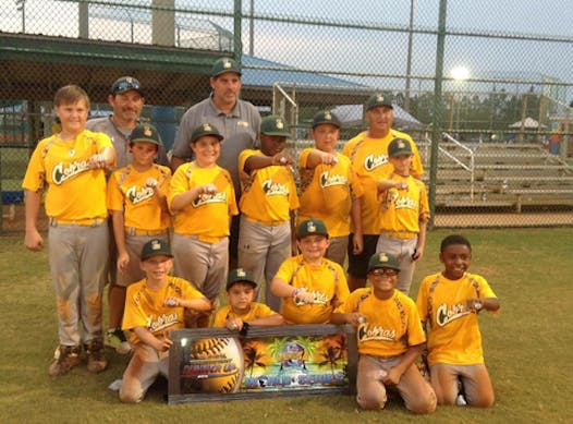 baseball fundraising - Crescent City Cobras