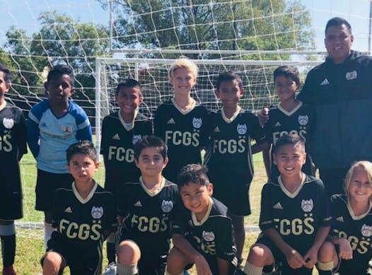 soccer fundraising - FC Golden State B2008 - White