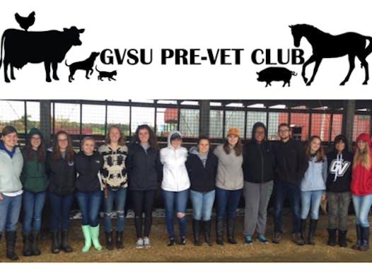 student clubs fundraising - GVSU Pre-Vet Club