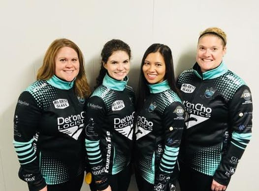 curling fundraising - Team Galusha