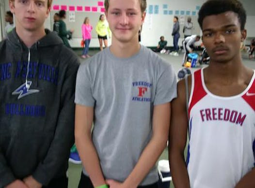 track and field fundraising - Freedom High track team
