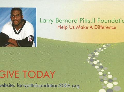 community improvement projects fundraising - Larry Pitts Foundation