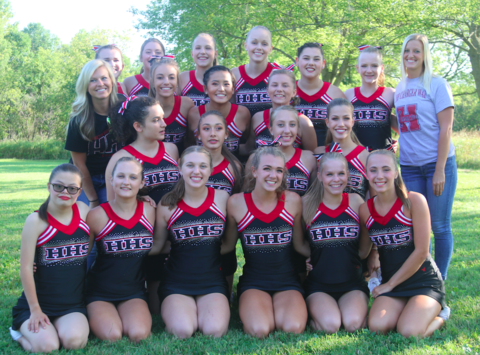 HHS Poms and Dance Team