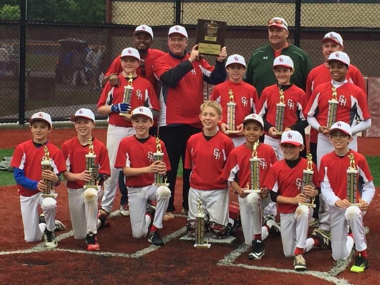 2017 Sacred Heart 11U 50/70 Cooperstown Team
