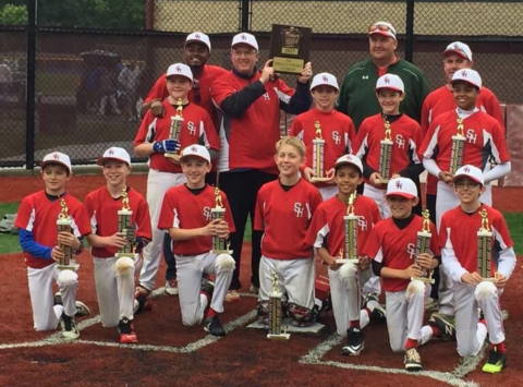 baseball fundraising - 2017 Sacred Heart 11U 50/70 Cooperstown Team