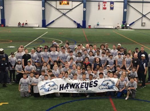 football fundraising - Oshawa Hawkeyes Football Club
