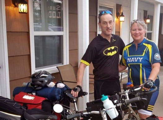 cycling fundraising - Cross Country Cycle 4 Vets