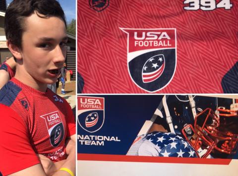 Miles Massengill- USA Football Development Games