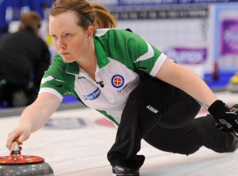 curling fundraising - Team Howard