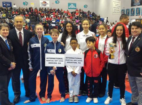 martial arts fundraising - IMA Houston Karate - Les Petits Samurai