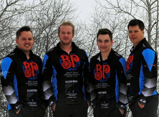 curling fundraising - Team Gamble