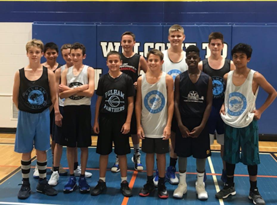 Pelham Panthers Basketball U14 Team Newton