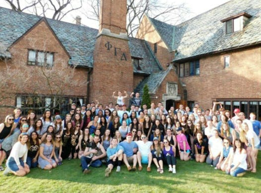 dance-a-thon fundraising - Delta Phi Epsilon and Phi Gamma Delta Benefitting THON