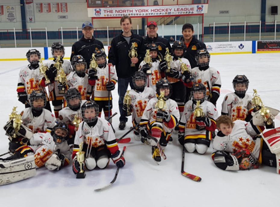 Leaside Flames Minor Atom AA Hockey