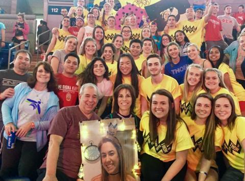 Phi Sigma Rho and Phi Sigma Kappa Benefitting THON