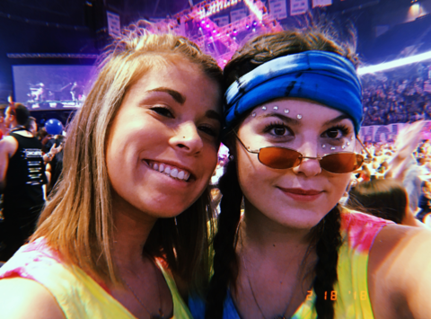 Maddie and Ashley Benefiting THON