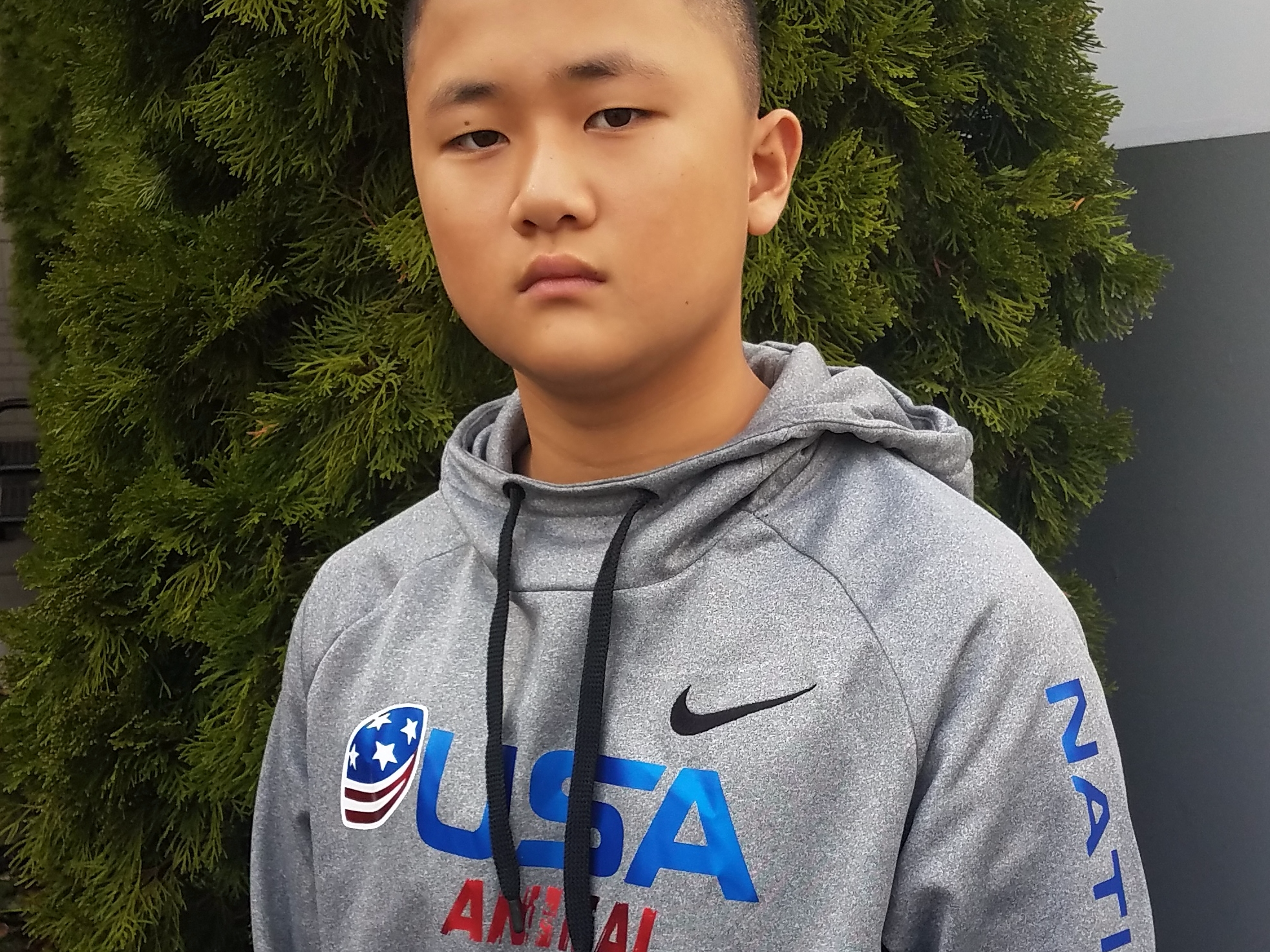 "Caleb ""Animal"" Kim- USA FOOTBALL 2018 US National Team"