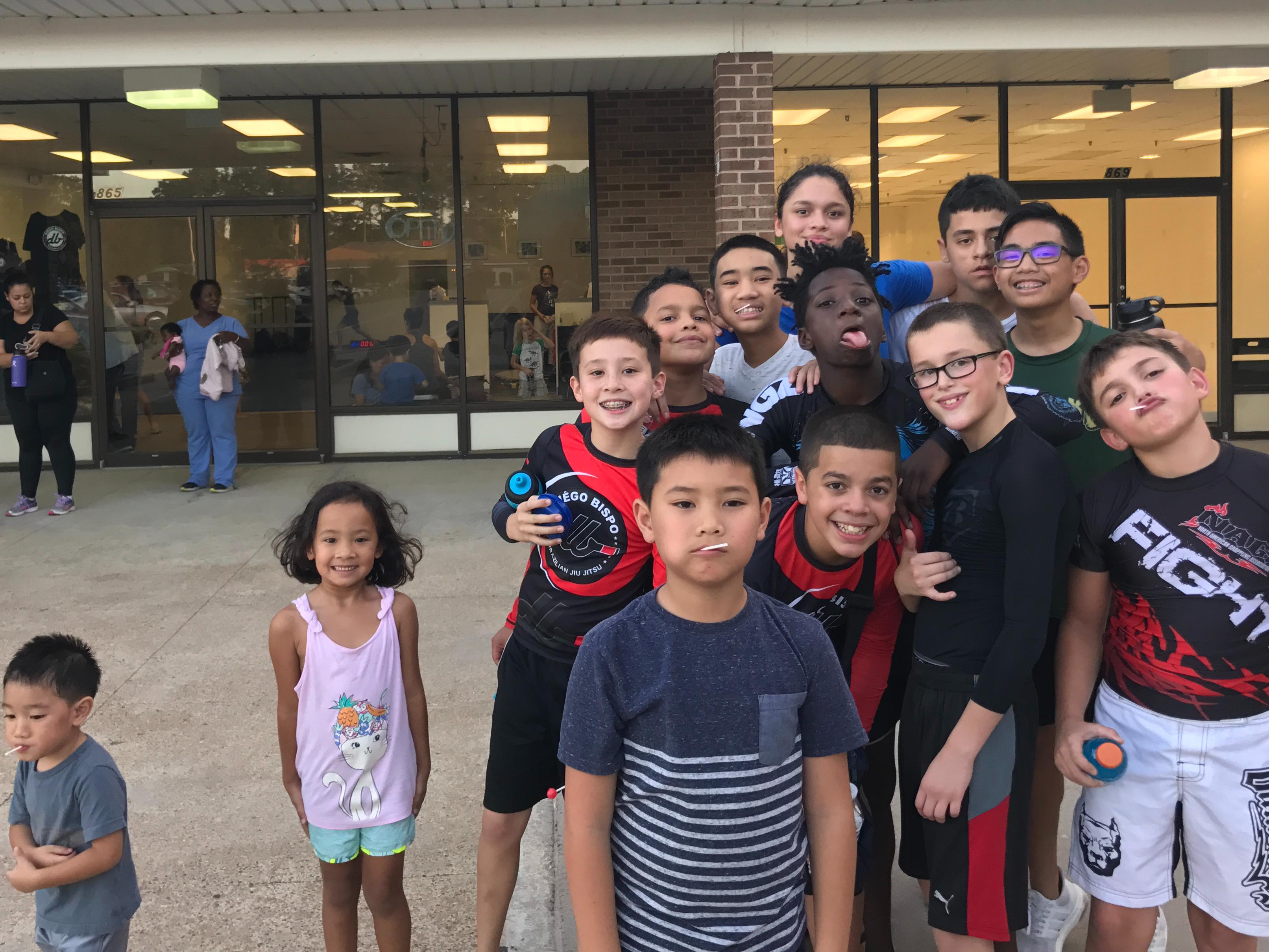 Our Kids Jiu Jitsu Fundraiser