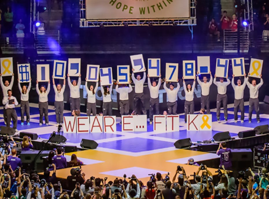 ASA and LXA Benefiting THON
