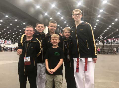 martial arts fundraising - Boyington's Taekwondo Academy