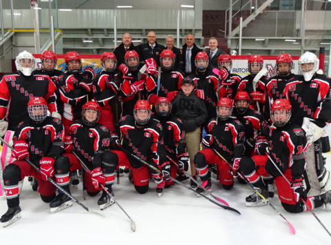 ice hockey fundraising - Chatham Cyclones 2003