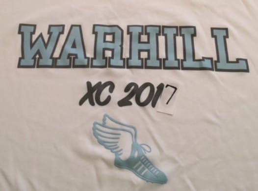 running fundraising - Warhill Cross Country 2017