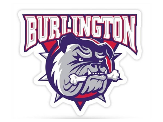 Burlington Bulldogs Minor Peewee MD Red