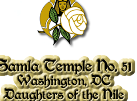 medical & healthcare fundraising - Daughters of the Nile Samla TempleNO.51 DC
